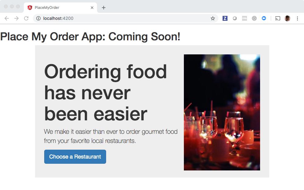 Food Website Github